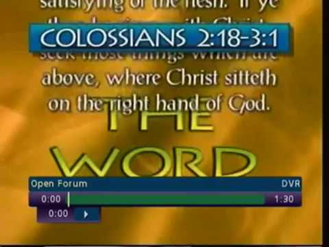 Answers From the Bible On Family Radio's Open Forum