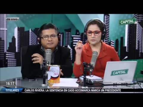 Entrevista al Dr Anthony Choy en Radio Capital por Yvonne Garcia y Kike Montenegro