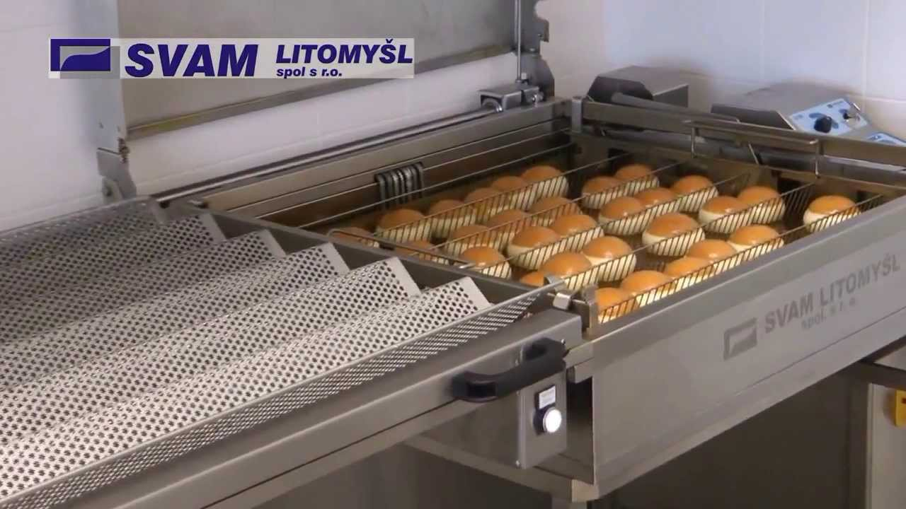 Automatic Deep Fryer Fryer Bakery Machines From Svam
