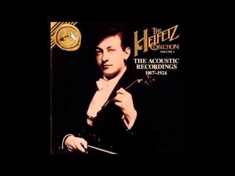 Jascha Heifetz REC 1917 1924 Volume 1 wmv