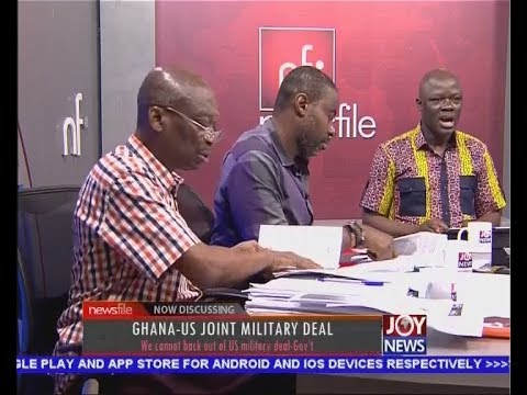 Ghana-US Joint Military Deal - Newsfile on JoyNews (24-3-18)