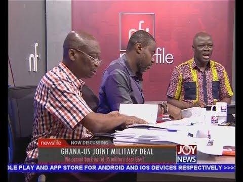 Ghana-US Joint Military Deal - Newsfile on JoyNews (24-3-18)