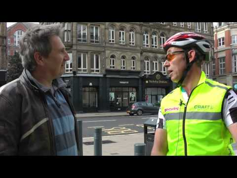 Bradford to Leeds 'city challenge' for Ride to Work Day 2014