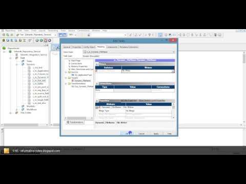 Dynamic Filenames In Informatica