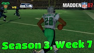 Bennett Puts the Team on His Back!   Albuquerque Vipers Madden 07 Franchise   Season 3, Week 7