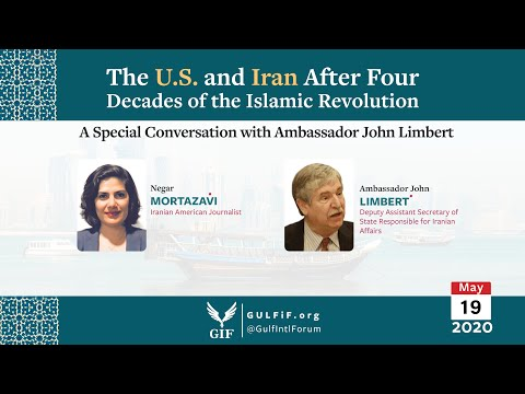 Special Conversation with Amb John Limbert; The US & Iran After 4 Decades of the Islamic Revolution