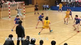 ハンドボール2019日本リーグ茨城大会  女子・オムロン vs HC名古屋