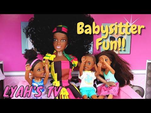 Nana Doll Babysitter - Black Barbie Toddlers!