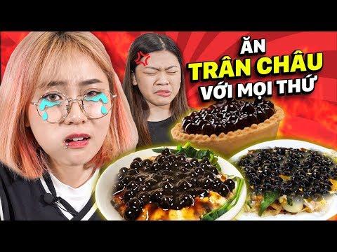 Misthy Thử Thách Tết Này ăn Mọi Thứ Với Trân Châu. Đâu Là Món Hợp Nhất? | FOOD CHALLENGE | TẾT 2020