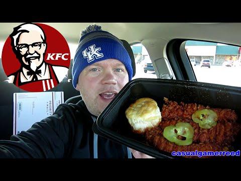 Reed Reviews KFC Nashville Hot Chicken Tenders