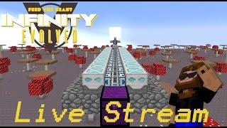 Minecraft: FTB Infinity Evolved - Live Stream 10 - Mining World Setup