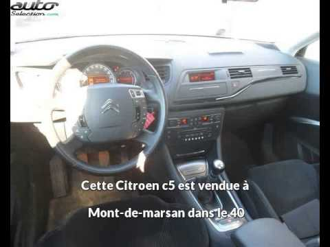 citroen c5 occasion visible mont de marsan pr sent e par. Black Bedroom Furniture Sets. Home Design Ideas