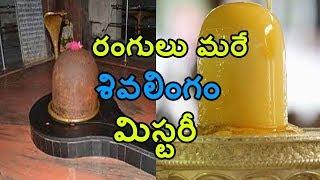 Mysterious Colour Changing Lord Shiva's Lingaas   రంగులు మారే శివలింగాల గురించి మీకు తెలుసా