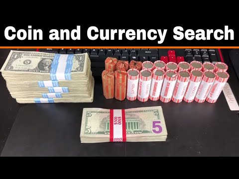 $1K Currency and Coin Search - Quarters, $1 and $5 Bills - Star Notes!
