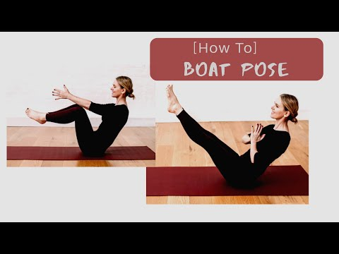 BOAT POSE TUTORIAL for beginner & the older yoga practitioner