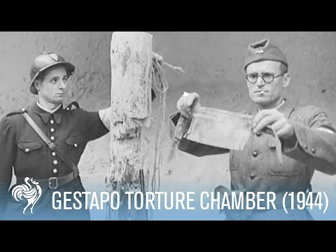 Gestapo Torture Chamber Found Under Eiffel Tower (1944) | War Archives