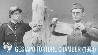 Gestapo Torture Chamber Under Eiffel Tower! Shocking