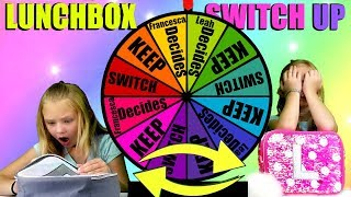 THE LUNCH BOX SWITCH UP CHALLENGE!!! SPIN THE WHEEL GAME!!!