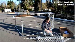 Aleko® Diy Dog Kennels