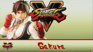 Street Fighter V Arcade Edition: Street Fighter V - Sakura
