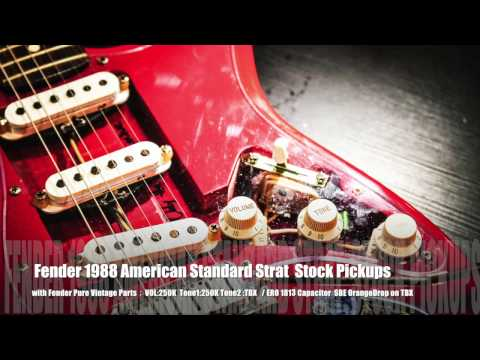 Relax 搖滾出口 - Nordstrand NVS Stratocaster Pickups  vs Fender American Stock Pickups