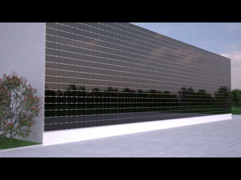 G-P LLC Solar Curtain Wall