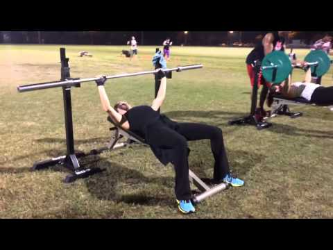 Total body workout with the Real Fitness Bootcamp, Operation Triple T, LLC