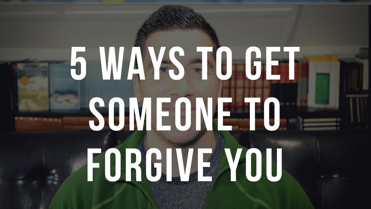 How to Get Someone to Forgive You | ApplyGodsWord com