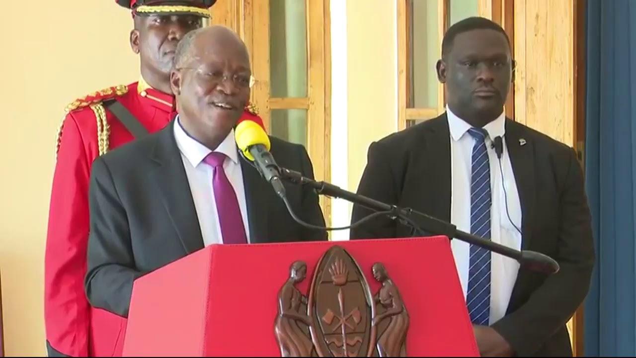 TANZANIA IKULU LIVE:Burundi President Evariste Ndayisimye ...