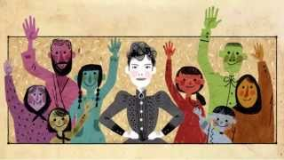 Google Doodle - 05.05.2015 - Nellie Bly/Elizabeth Jane Cochran (Music+Video)
