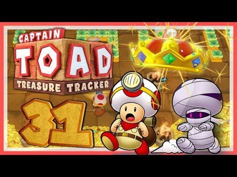 CAPTAIN TOAD: TREASURE TRACKER #31: Zeitloser, unendlicher Mumienschanz! [1080p] ★ Let's Play