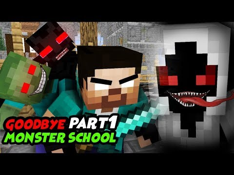 MONSTER SCHOOL : GOODBYE MONSTER SCHOOL ( SAD AND TOUCHING STORY)
