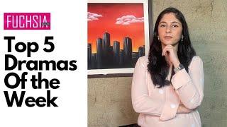 Top 5 Dramas of the week   Actor of the week   Director of the week   Rabia Mughni  FUCHSIA Magazine