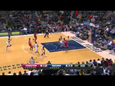 Rockets vs. Pacers: First half  | Jan 18, 2013
