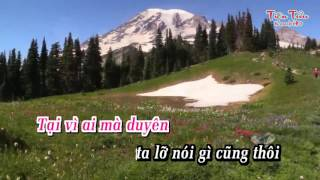 Trách Ai Vô Tình-karaoke (beat không bè)-Giáng Tiên