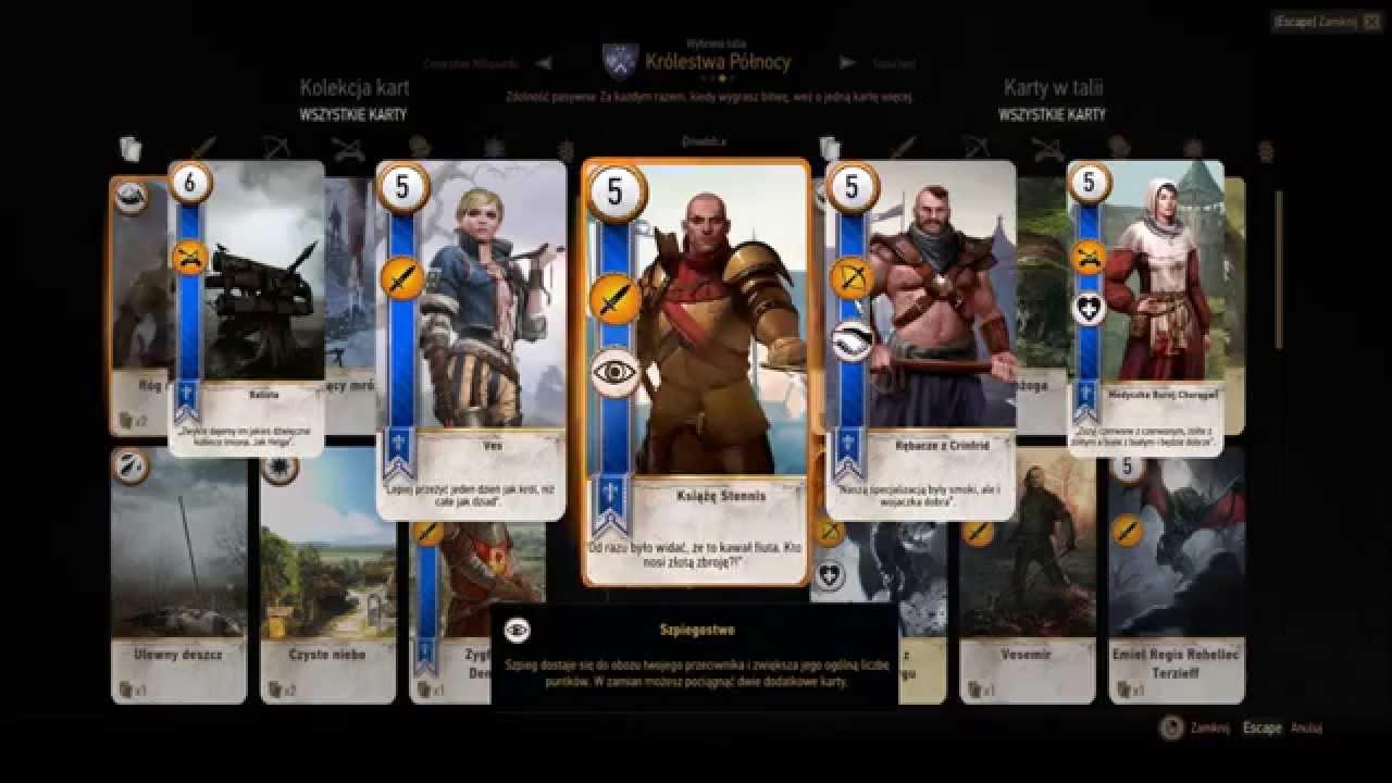 """Ballad Heroes"" Neutral Gwent Card Set DLC"