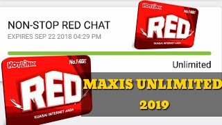 Trick Maxis Unlimited Internet 2019