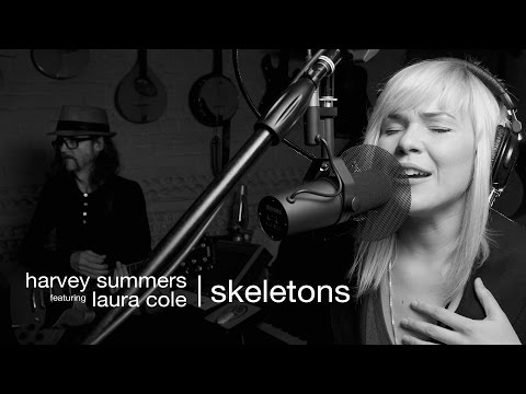 harvey summers featuring laura cole | skeletons  -  official single music video exclusive