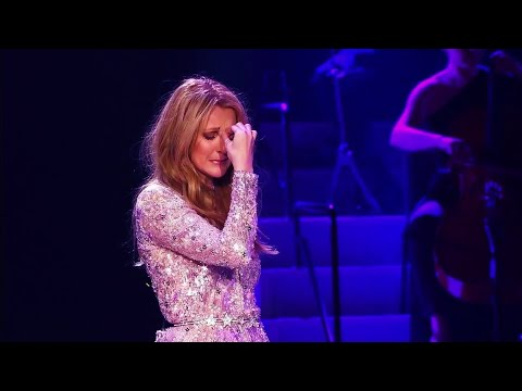EXCLUSIVE  Céline Dion Breaking Down in Tears During All  Myself 2016 HD