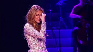 Céline Dion's Emotional Breakdown While Performing All By Myself