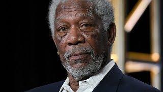 Morgan Freeman wore a baseball hat to the 2018 SAG Awards