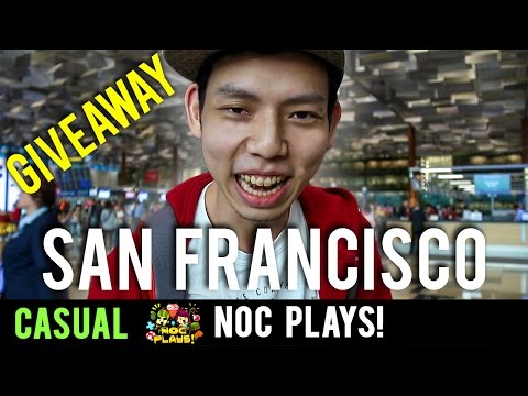 NOC Plays Goes to SAN FRANCISCO (Giveaway)