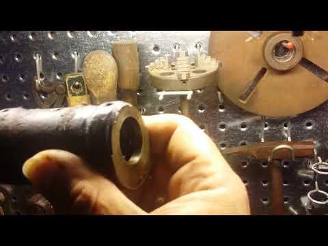 Antique Barnes #4 1/2 Screw Cutting Lathe Bearing Blocks