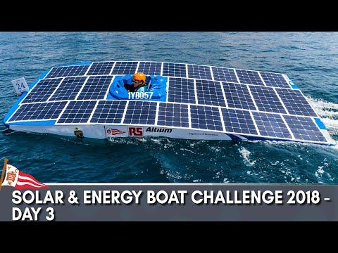 Solar & Energy Boat Challenge 2018 - Day 3