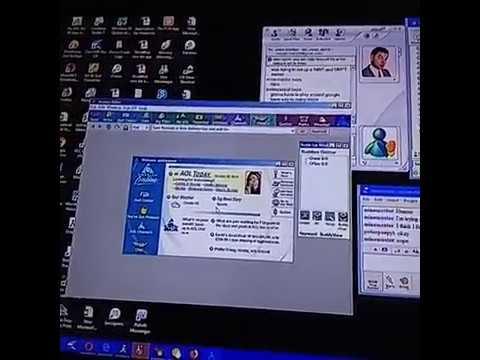 American Online Internet, MSN Messenger,Yahoo Messenger,AOL Instant Messenger Still Working 2019
