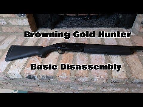 Browning Shotgun Basic Disassembly (Part 1 of 4)