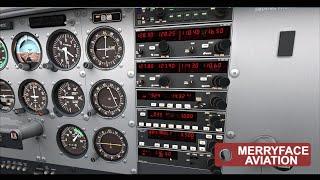 a2a cessna 172 bendix king tutorial part 2 autopilot basics vor and adf