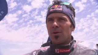 Team Peugeot Total RACING VICTORY at Silk Way Rally