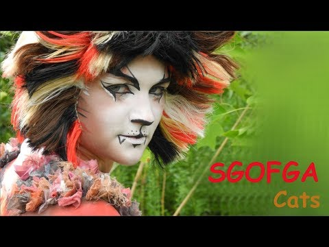 Sgofga (OC) Cats Musical Make Up Timelapse