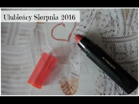 Ulubieńcy Sierpnia 2016: H&M, Kosmetykomania, Ahmad Tea, Choker, Mules, DeeZee